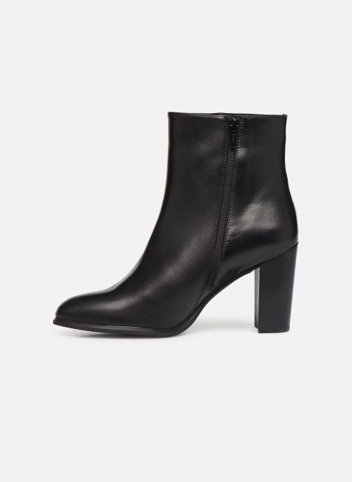 Bottines et boots Unisa UGO-NE Noir vue face