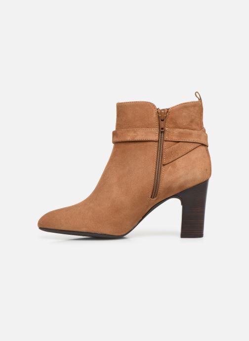 Boots en enkellaarsjes Unisa UMBRIA-KS Bruin voorkant