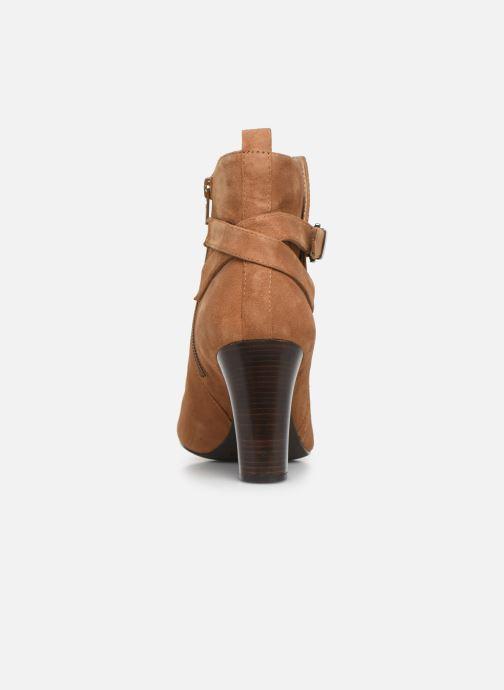Boots en enkellaarsjes Unisa UMBRIA-KS Bruin rechts
