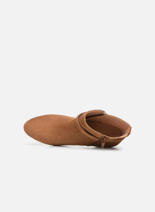 Boots en enkellaarsjes Unisa UMBRIA-KS Bruin links