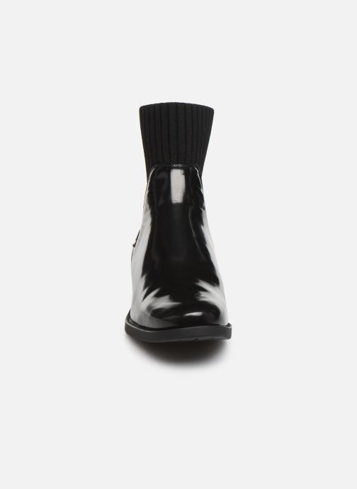 Bottines et boots Unisa ELLEN-SGL Noir vue portées chaussures