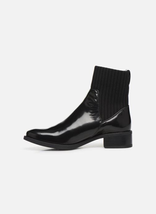 Bottines et boots Unisa ELLEN-SGL Noir vue face