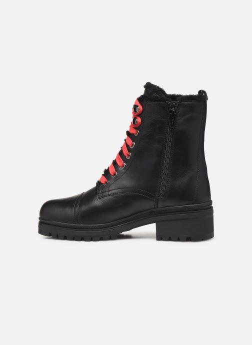 Boots en enkellaarsjes Unisa IRACHE-CLF Zwart voorkant