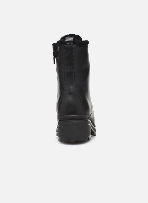 Boots en enkellaarsjes Unisa IRACHE-CLF Zwart rechts