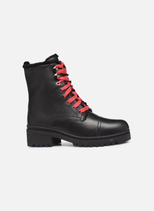Boots en enkellaarsjes Unisa IRACHE-CLF Zwart achterkant