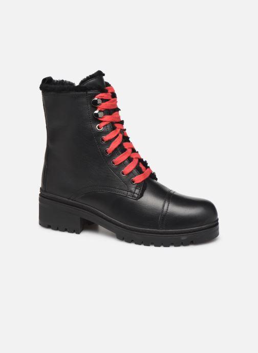 Boots en enkellaarsjes Unisa IRACHE-CLF Zwart detail