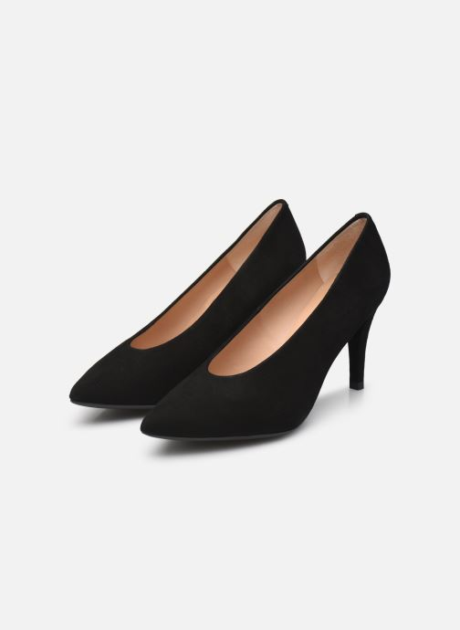Zapatos de tacón Unisa TAIPEI-KS Negro vista de abajo