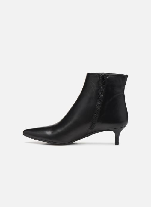 Boots en enkellaarsjes Unisa JATI-F19-NA Zwart voorkant
