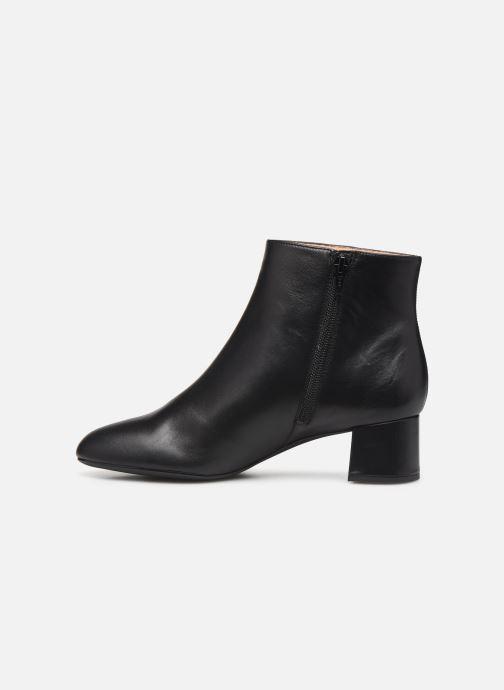 Bottines et boots Unisa LEVI-NA Noir vue face