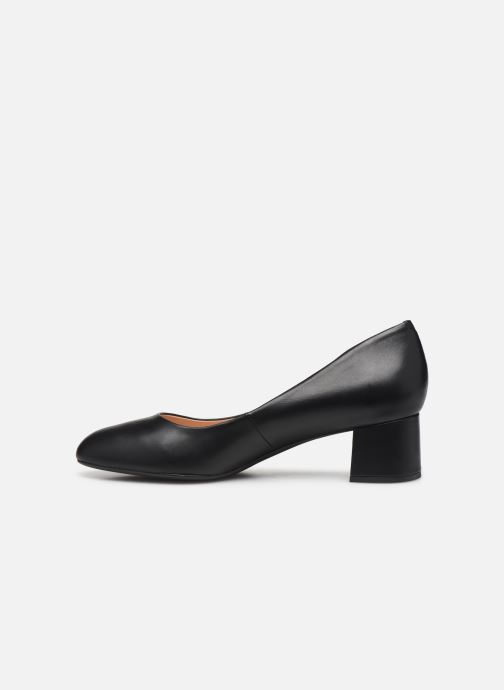 Zapatos de tacón Unisa LASIE-F19-NA Negro vista de frente