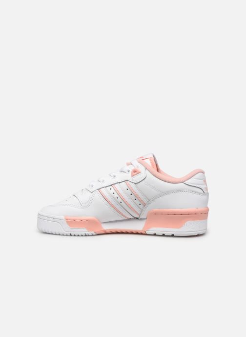 Sneakers adidas originals Rivalry Low J Bianco immagine frontale