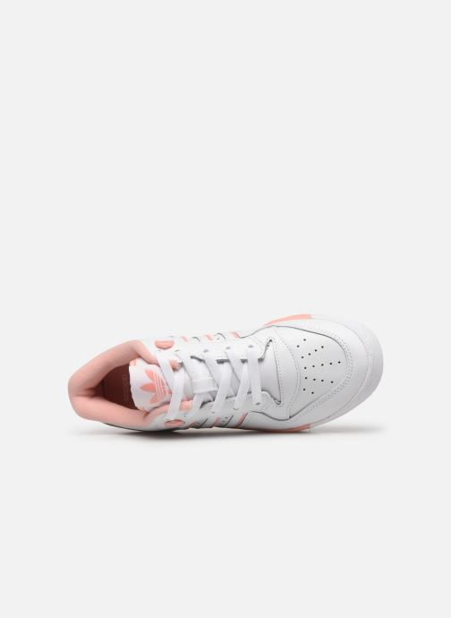 Sneakers adidas originals Rivalry Low J Bianco immagine sinistra