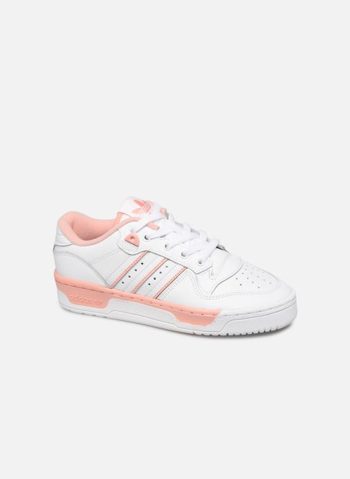 Sneakers adidas originals Rivalry Low J Wit detail