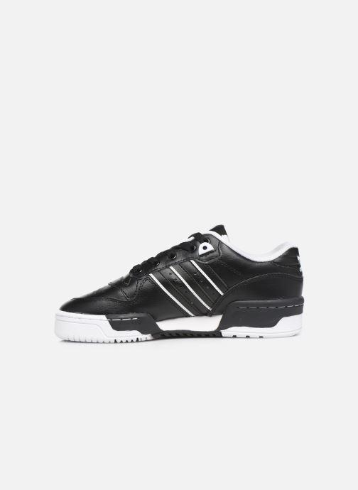 Sneakers adidas originals Rivalry Low J Zwart voorkant