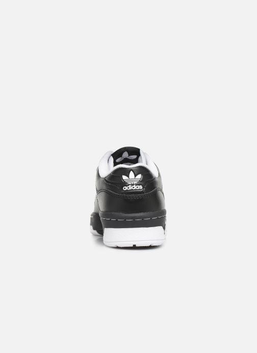 Sneakers adidas originals Rivalry Low J Zwart rechts