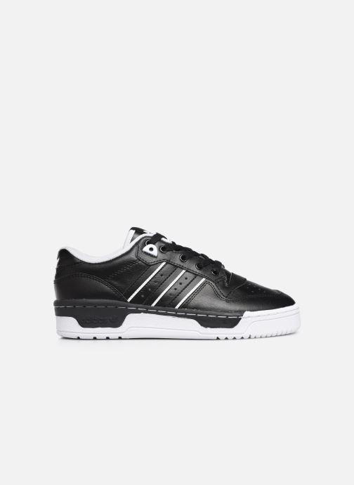 Sneakers adidas originals Rivalry Low J Zwart achterkant