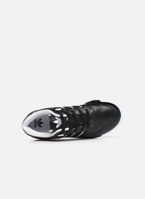 Baskets adidas originals Rivalry Low J Noir vue gauche