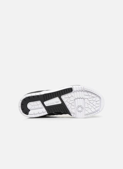Baskets adidas originals Rivalry Low J Noir vue haut