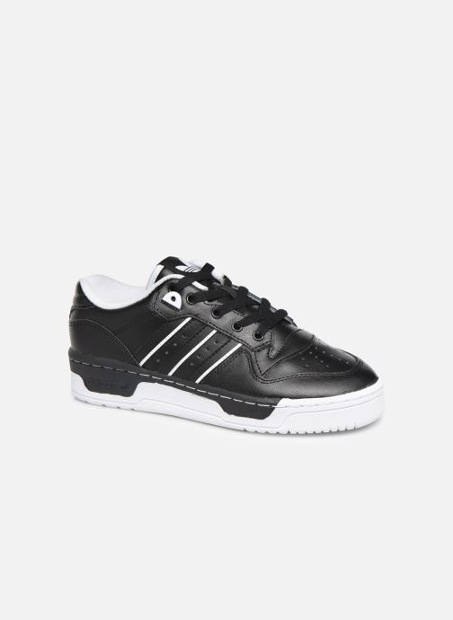 Baskets adidas originals Rivalry Low J Noir vue détail/paire