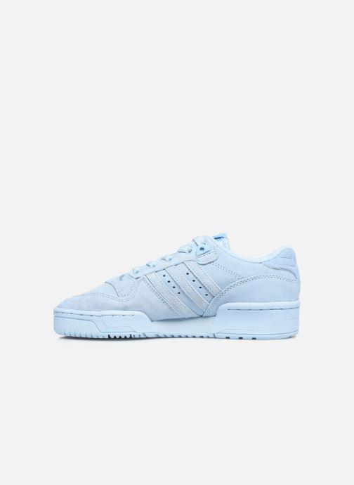 Sneakers adidas originals Rivalry Low J Blauw voorkant