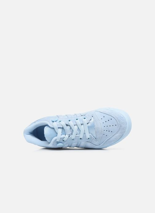 Baskets adidas originals Rivalry Low J Bleu vue gauche