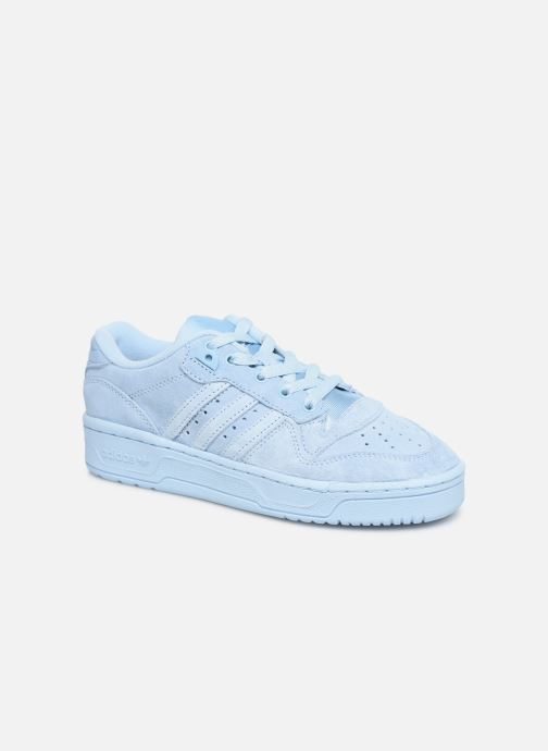 Baskets adidas originals Rivalry Low J Bleu vue détail/paire