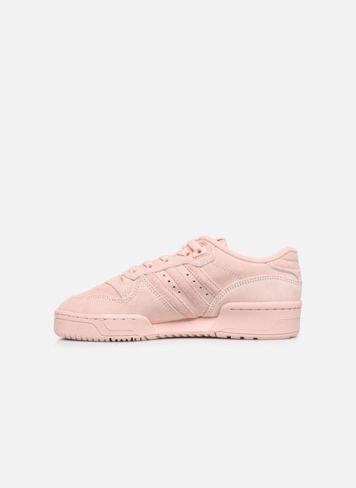 Sneakers adidas originals Rivalry Low J Roze voorkant