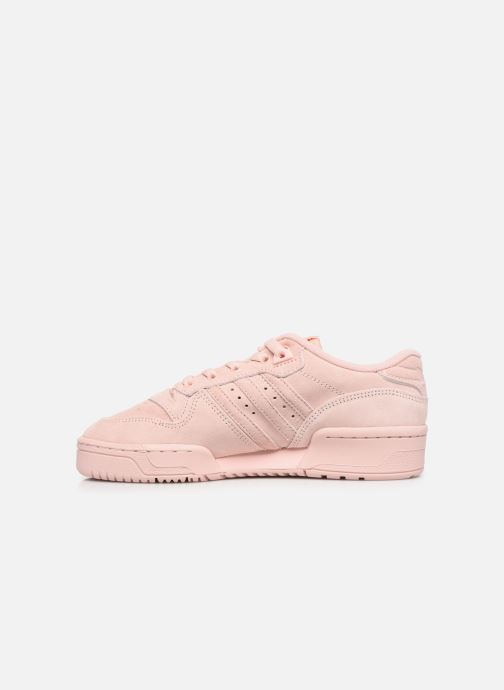 Trainers adidas originals Rivalry Low J Pink front view