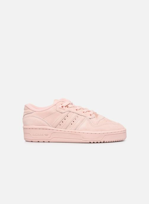 Trainers adidas originals Rivalry Low J Pink back view