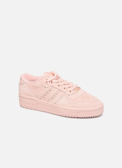 Trainers adidas originals Rivalry Low J Pink detailed view/ Pair view