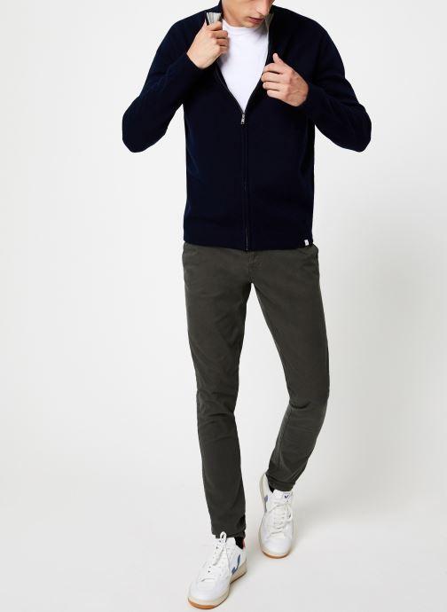 Vêtements Harris Wilson GILBET JABO Bleu vue bas / vue portée sac