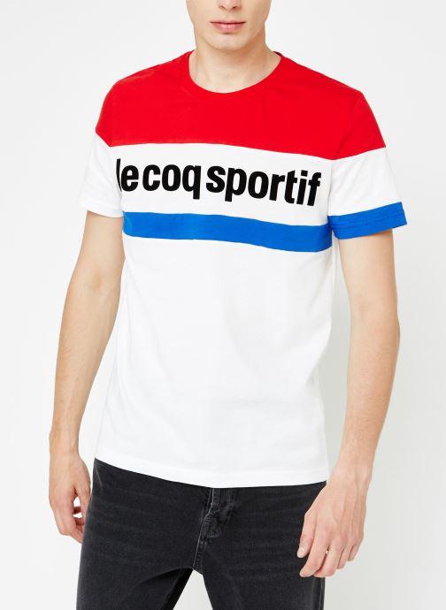 Kleding Le Coq Sportif TRI Tee SS N°1 M Multicolor rechts