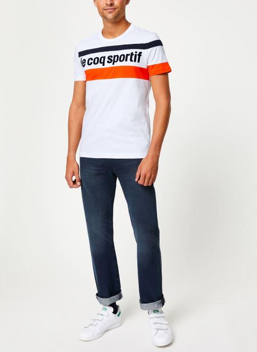 Vêtements Le Coq Sportif ESS SAISON Tee SS N°2 M Multicolore vue bas / vue portée sac