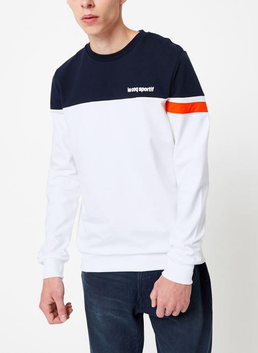 Vêtements Le Coq Sportif ESS SAISON Crew Sweat N°2 M Multicolore vue droite