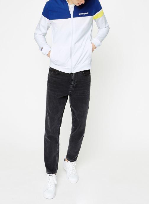Vêtements Le Coq Sportif ESS SAISON FZ Sweat N°1 M Multicolore vue bas / vue portée sac