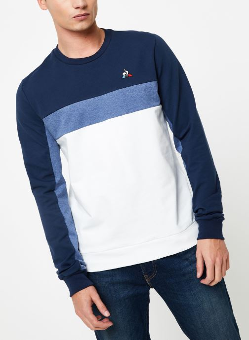 Vêtements Le Coq Sportif TRI SAISON Crew Sweat N°1 M Multicolore vue droite