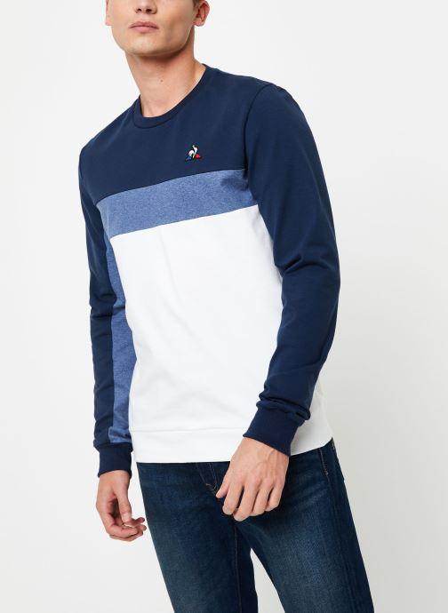 Vêtements Le Coq Sportif TRI SAISON Crew Sweat N°1 M Multicolore vue détail/paire