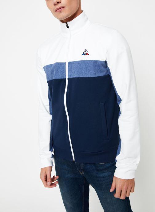 Vêtements Le Coq Sportif TRI SAISON FZ Sweat N°1 M Multicolore vue droite