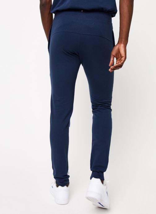 Vêtements Le Coq Sportif TRI SAISON Pant Slim N°1 M Bleu vue portées chaussures