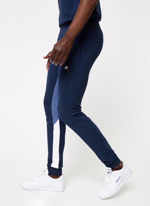 Vêtements Le Coq Sportif TRI SAISON Pant Slim N°1 M Bleu vue détail/paire