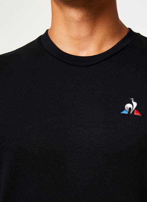 Vêtements Le Coq Sportif ESS Crew Sweat N°2 M Noir vue face