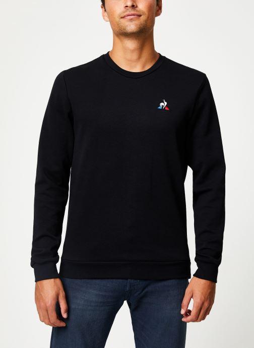 Vêtements Le Coq Sportif ESS Crew Sweat N°2 M Noir vue droite