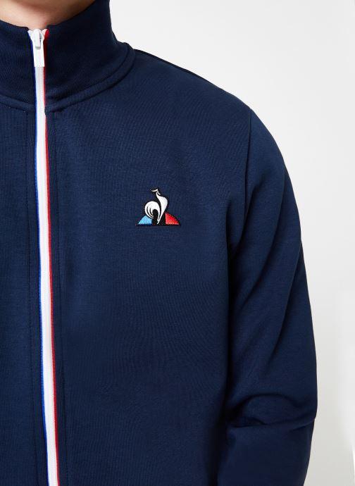 Vêtements Le Coq Sportif ESS FZ Sweat N°2 M Bleu vue face