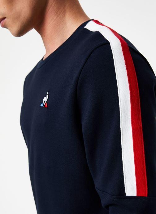 Vêtements Le Coq Sportif TRI Crew Sweat N°3 M Bleu vue face