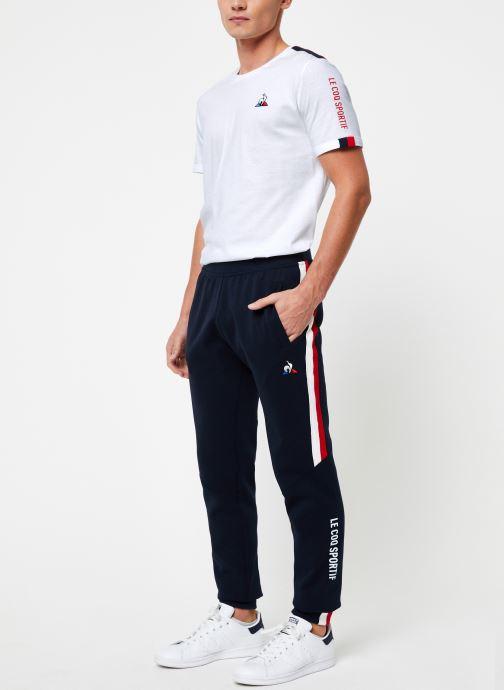 Vêtements Le Coq Sportif TRI Pant Regular N°1 M Bleu vue bas / vue portée sac