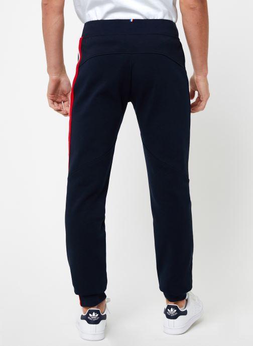 Vêtements Le Coq Sportif TRI Pant Regular N°1 M Bleu vue portées chaussures