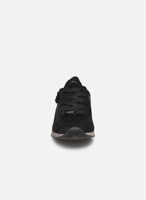 Sneaker Ara Fusion4 44060 schwarz schuhe getragen