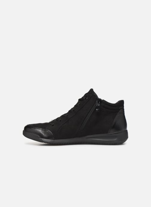 Baskets Ara Rom High Soft 44452 Noir vue face