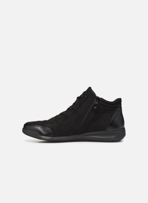 Sneaker Ara Rom High Soft 44452 schwarz ansicht von vorne