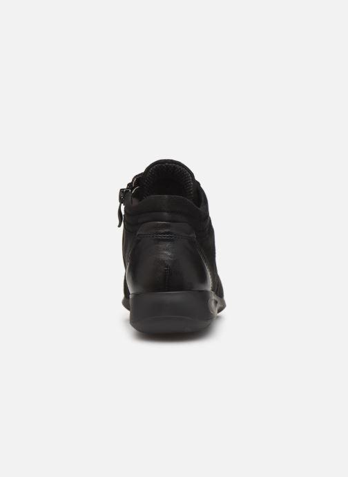 Baskets Ara Rom High Soft 44452 Noir vue droite